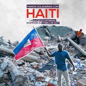 campaña solidaria Haití Ecuador